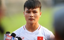 Quang Hải xúc động khi nghe thư động viên từ Thủ tướng