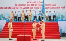 TP.HCM ra quân thực hiện năm An toàn giao thông 2020