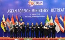 Các ngoại trưởng ASEAN lo ngại về những bất ổn trên Biển Đông