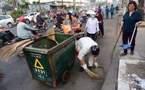 Nhiều quận huyện ra quân vì 'Thành phố sạch - Thành phố văn hoá'