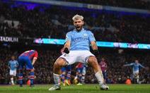 Aguero lập cú đúp, M.C vẫn không thắng được Crystal Palace