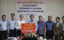 TP.HCM tặng 500 triệu đồng hỗ trợ dân nghèo Quảng Nam ăn tết