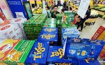 Giá bia tuột dốc, chỉ cao hơn Tết năm ngoái từ 5.000-7.000 đồng/thùng