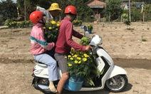 28 tết, lái 'bùng' 3.000 chậu hoa, dân mạng tràn tới cứu lão nông Bình Chánh