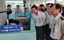 Thủ tướng yêu cầu kiểm tra chặt các cửa khẩu trước dịch virus corona