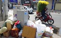 Rác tết Sài Gòn tăng gấp ba, bốn lần