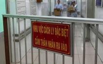 Hai ca nhiễm virut corona đầu tiên ở BV Chợ Rẫy là người Trung Quốc