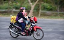 Muôn kiểu đường về quê bằng xe máy