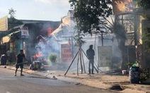 Mùng 2 tết, cả khu phố nháo nhào vì hỏa hoạn