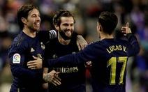 Nacho lập công giúp Real Madrid vượt mặt Barca chiếm ngôi đầu bảng