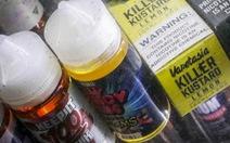Mỹ cấm thuốc lá điện tử hương vị bạc hà, trái cây