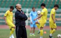 HLV Park Hang Seo chọn ai đá cánh phải trận U23 UAE?