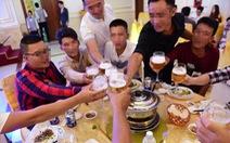 Uống nhiều loại rượu bia cùng lúc, coi chừng!