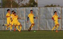 U23 Việt Nam trở lại 'đất vàng' Buriram