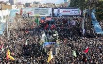 Giẫm đạp tại lễ an táng tướng Iran Soleimani, hàng chục người chết