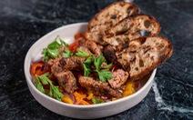 Thịt heo, xúc xích làm từ đậu nành xuất hiện tại triển lãm CES 2020