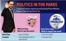 Chạy phản đối thủ tướng thì tốn tiền, đi bộ ủng hộ thủ tướng thì miễn phí?