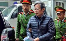 Cựu bộ trưởng Nguyễn Bắc Son kháng cáo xin giảm nhẹ hình phạt