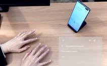 Bàn phím vô hình khiến ai cũng có thể có 'bàn tay ma thuật'