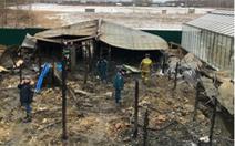 Nghi vấn có người Việt trong 8 nạn nhân vụ cháy ở ngoại ô Matxcơva?