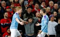 """Man City 'giải quyết gọn"""" Man United ở bán kết lượt đi Cúp liên đoàn"""