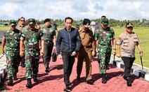 Tổng thống Indonesia đến thăm khu vực đang căng thẳng với Trung Quốc