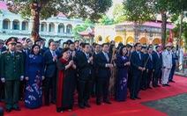 Lãnh đạo Hà Nội dâng hương kỷ niệm 1010 năm Thăng Long - Hà Nội