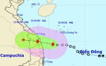 NÓNG: Bão đang tiến vào các tỉnh từ Quảng Nam đến Bình Định