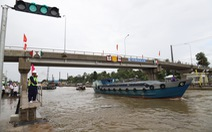 Bạc Liêu tiếp nhận công trình ngăn mặn, giữ ngọt 360 tỉ đồng cho vùng Tây sông Hậu