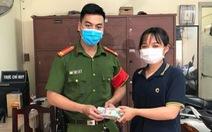 Nhặt được 4 cọc tiền to, nữ sinh viên Hutech liền mang nộp công an