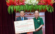 Tập đoàn Hưng Thịnh trao 10 tỉ đồng cho Bộ đội Biên phòng hỗ trợ phòng, chống dịch