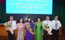 Bầu bổ sung 3 lãnh đạo sở, ngành làm ủy viên UBND TP.HCM