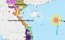 Áp thấp nhiệt đới mạnh lên thành bão số 7