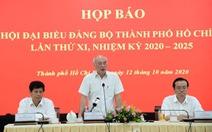 Chiều 17-10 sẽ công bố danh sách ủy viên BCH Đảng bộ TP.HCM khóa mới