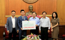 Ecopark ủng hộ đồng bào nghèo miền Trung 5 tỉ đồng khắc phục hậu quả bão lũ