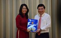 Bà Nguyễn Thị Ánh Hoa giữ chức giám đốc Sở Du lịch TP.HCM