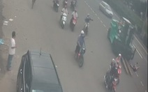 Xe nâng đụng xe máy ở Thủ Đức, một người chết