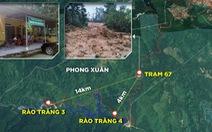 Công an Thừa Thiên Huế: 17 công nhân thủy điện Rào Trăng 3 mất tích
