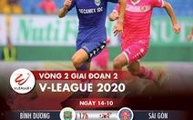 Lịch trực tiếp V-League 2020 ngày 14-10: CLB TP.HCM - Viettel