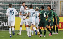 Messi 'tịt ngòi', Argentina thắng chật vật Bolivia trên 'cổng trời' La Paz
