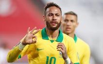 Neymar lập hat-trick, Brazil thắng ngược kịch tính Peru