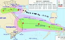 Bão số 7 suy yếu, áp thấp nhiệt đới mới mạnh lên khi vào Biển Đông
