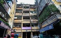 Phải di dời các hộ dân ra khỏi chung cư cũ nguy hiểm