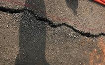 Xuất hiện vết nứt dài 173m dọc thân đập của hồ thủy lợi Sông Mực