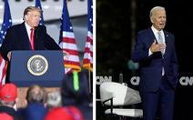 Trump - Biden 'đấu tay đôi' tại các bang chiến trường