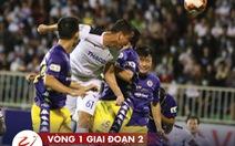Tỉ số, bảng xếp hạng V-League ngày 15-10: Hà Nội lên thứ 2, Quảng Nam lâm nguy