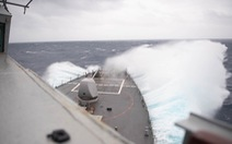 Ông Tập đang 'nam tuần', tàu chiến Mỹ 'đông du' qua eo biển Đài Loan