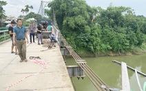 Sẽ xây cầu cứng sau vụ tai nạn 5 người chết ở cầu treo sông Giăng