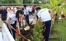'Toyota chung tay xanh hóa học đường' nhân rộng mảng xanh tại nhiều trường học