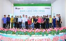 Lan tỏa niềm vui từ 'Ngôi làng bền vững'
